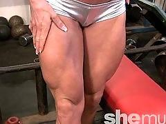 Ashlee chambers  shemuscle  pornstar fitness