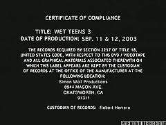 Wet teens 3