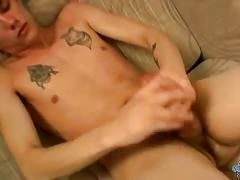 Solo cum shooting with twinky cain