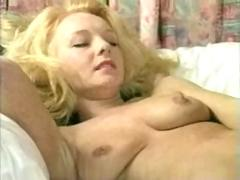 Blonde cougar chrissie giving it up