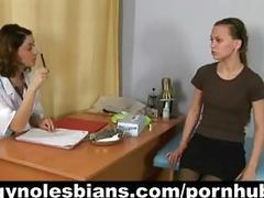 Lesbian gyno examination