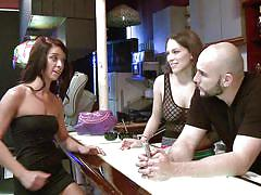 Lusty babes get laid in bar @ season 2 ep. 2