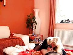 German amateur blonde