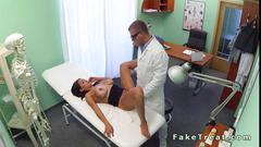 Doctor gets to mend her problem at his office