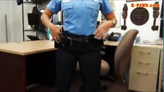 Police women taking a mean dick deep