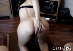 Stiff boner is what the slut needs