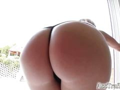 Martha's hot ass ruthlessly fucked by horny guy