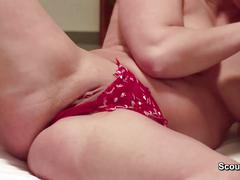 Mom and dad make porn movie for a litlle money