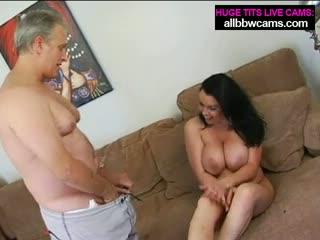 Milf tit fucking enormouse boobs pt 1