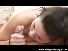 London keys gives a sexy soapy massage