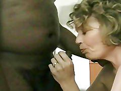A naught slut likes creampie from a black stud