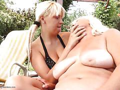 blonde, lesbians, old young, granny lesbian, outdoor, saggy tits, lesbian kissing, old and young lesbians, mature nl, szandra, juliene