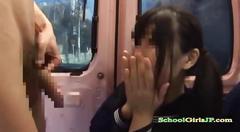 Schoolgirl having sex for money sucking guy cock cum...