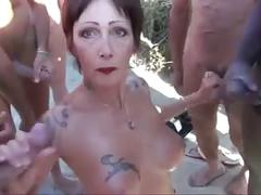 Nudist beach cap d'agde baie des cochons