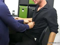 Trevor bridge gets paid in cock by kris anderson