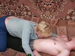 Russian milf and guy - 19