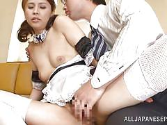 babe, japanese, uniform, fingering, cosplay, japanese maid, censored, pussy eating, j cos play, all japanese pass, yurie matsushima