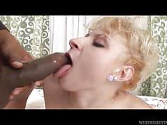 Hot interracial sex @ 142 inches of black cock #03