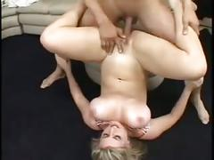 Papa - she has great big tits and gets fucked