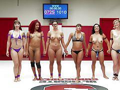 lesbians, ebony, interracial, redhead, wrestling, public, domination, ultimate surrender, kink, mistress kara, penny barber, mona wales, daisy ducati, izamar gutierrez