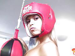 Sabrina at the gym
