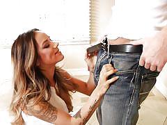milf, big tits, bikini, blowjob, brunette, tattooed, outdoors, mommy blows best, myxxxpass, tj xx, nadia styles