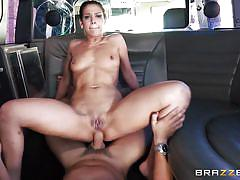 milf, anal, round ass, brunette, from behind, riding cock, in car, big butts like it big, brazzers network, nick moreno, samia duarte