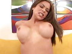 big dick, big tits, big-boobs, big-cock, brunette, shaved-pussy, eating-pussy, sucking-cock, titty-fuck, reverse-cowgirl, doggy-style, cum-on-tits