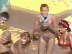 Playoff mud bath