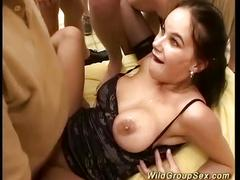 Wild german bukkake groupsex orgy