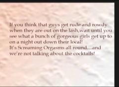 Four british lesbians get it on down the pub