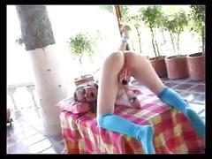Marcela rubita aka isabel dancing & taking cock