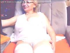 48 years blonde teasing 22 y camfriend