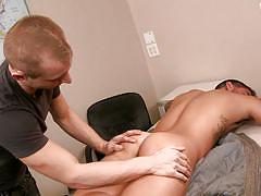 student, ass licking, school, hand job, tattooed, gay blowjob, gay, on the table, big dicks at school, men, bryce star, randall o'reilly