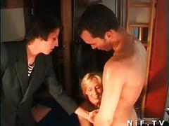 French swingers in an orgy
