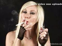 Samantha sin - smoking fetish at dragginladies
