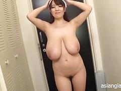 Asian huge tits from hitomi tanaka
