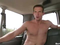 Horny gay sucks straight dudes cock.