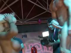 Hardcore performance on salon erotico de barcelona