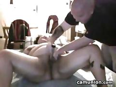 Fat chick gets fucked by her man