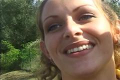 Maria aux beaux yeux bleus
