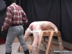 Sexy twibk fucked from behind.