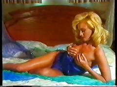 Georgeous blonde teases teases and finally fucks