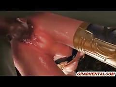 3d monster fuck (weird)