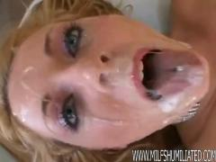 Sophie dee getting fucked and drowning in cum