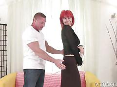 Hungry redhead grandma @ i wanna cum inside your grandma #11