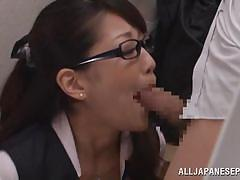 Fucking a hot colleague in office