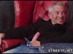 Streetflirts.com fake casting agent gets blowjob