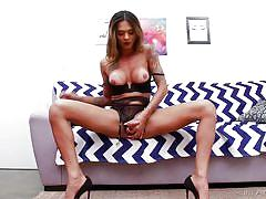 shemale, big ass, big dick, bubble butt, high heels, big tits, tattoo, solo, masturbation, latina, babe, ts playground, evil angel, bianca alves