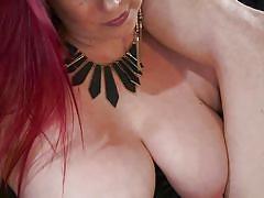 milf, femdom, bdsm, big tits, punishment, anal insertion, anal sex, red hair, rope bondage, divine bitches, kink, bella rossi, jessie sparkles